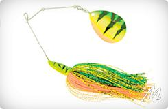Pike Spinnerbait-Single Colorado 28g