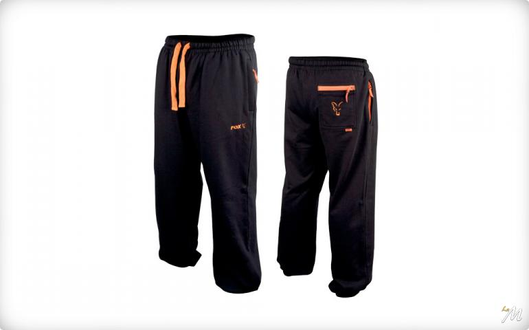 Lightweight Joggers Black/Orange