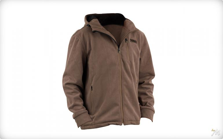 Chunk Wind Shield Hooded Jacket Khaki