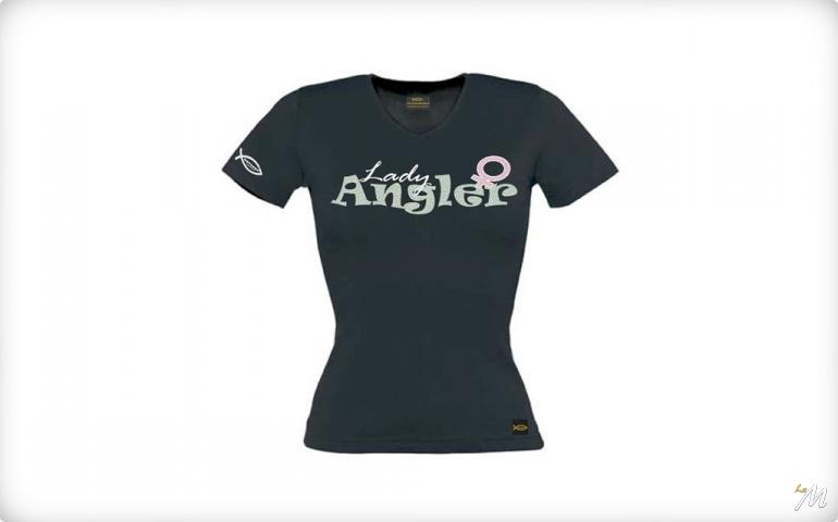 Lady Angler T-Shirt Colore Nero