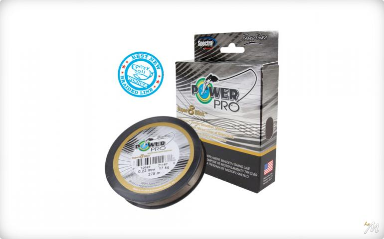 Power Pro Super 8 Slick Marrone