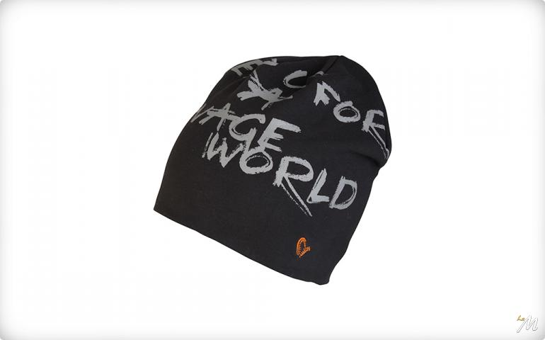 World Beanie Black