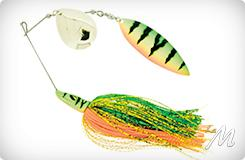Pike Spinnerbait-Tandem Willow 42g