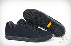 Scarpa casual Black Orange