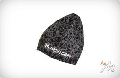 Knit Geometry Beanie Black
