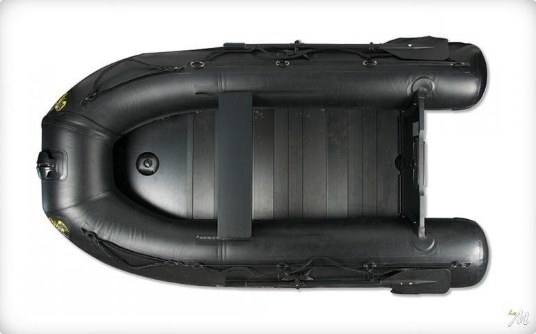 Carpspirit Black Rubber Boat 270