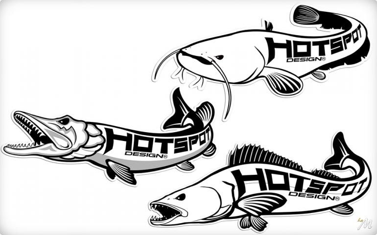 Hot Spot Design Stickers Grandi