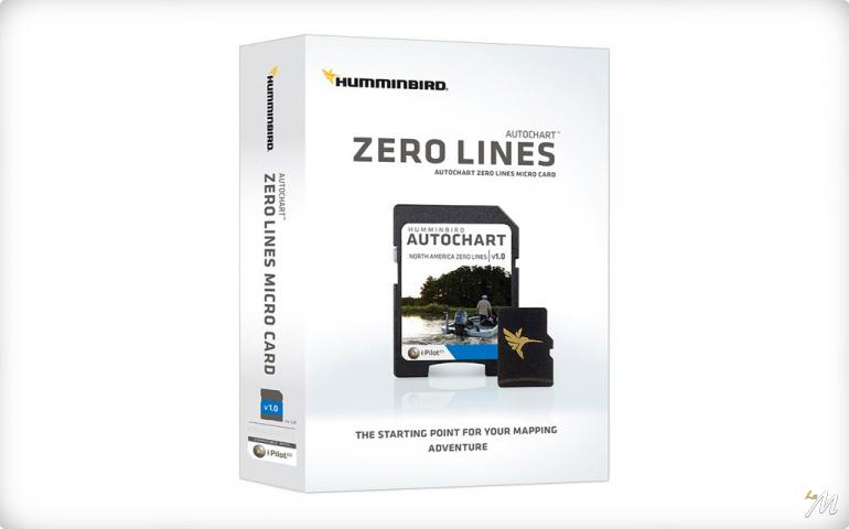 Humminbird AutoChart Zero Lines card