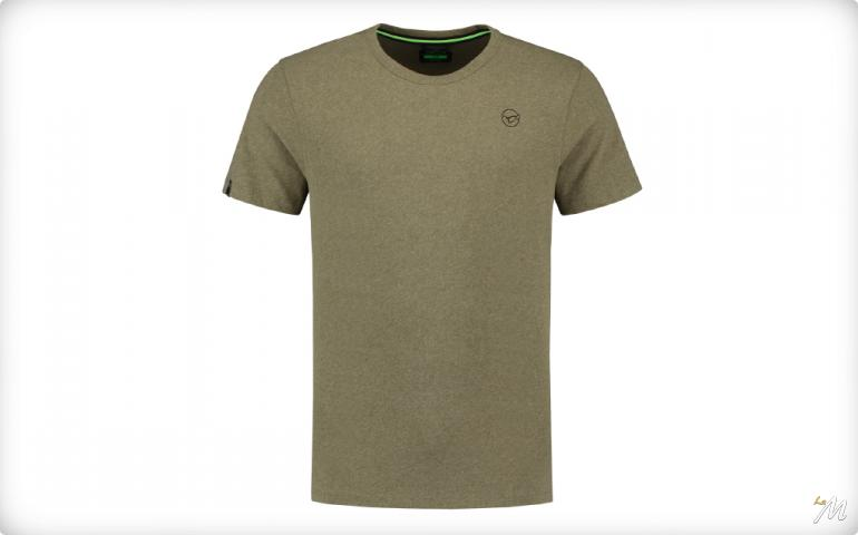 Team Korda Tee Heather Olive