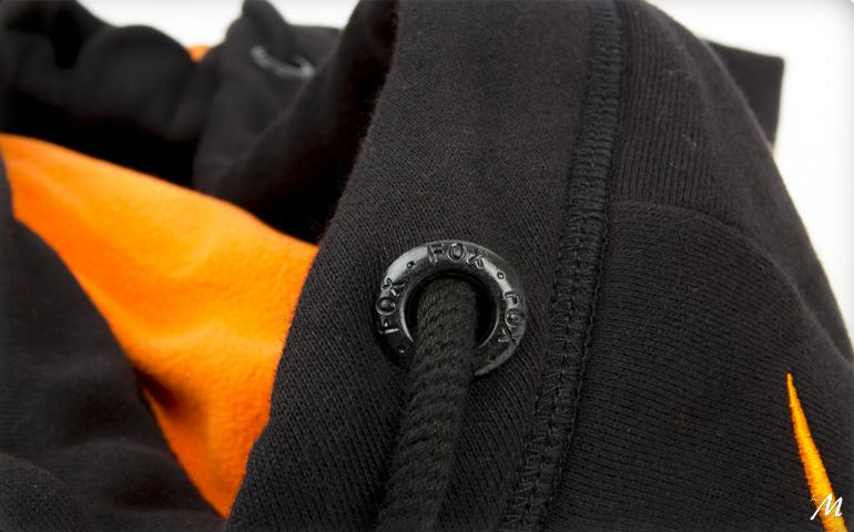 Hoody Black/Orange