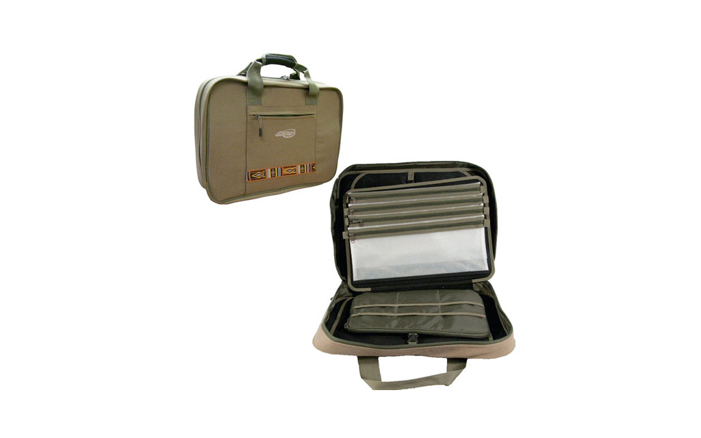 La mincio dal 1982 the fishing specialist fly tying bag for Modulo di lista costruzione punch